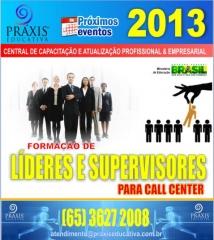 Forma��o de lideres e supervisores para call center