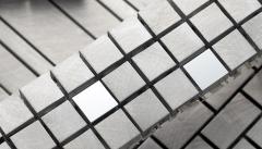 Pastilha de aluminio pastilhart - www.pastilhart.com.br