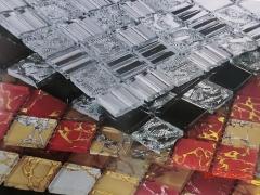 Pastilhas de vidro decoradas pastilhart - www.pastilhart.com.br