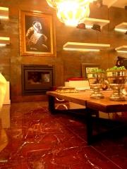 Casacor 2013 porcelanato vermelho napoleon pastilhart - www.pastilhart.com.br