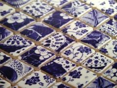 Pastilha de porcelana oriental - arte e exclusividade - pastilhart revestimentos - www.pastilhart.com.br