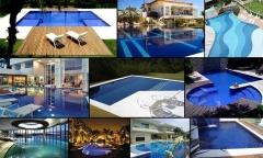 Pastilhas de vidro pará piscinas pastilhart - www.pastilhart.com.br