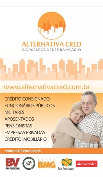 Banner Alternativa Cred