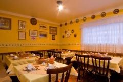 Bar e restaurante da pousada