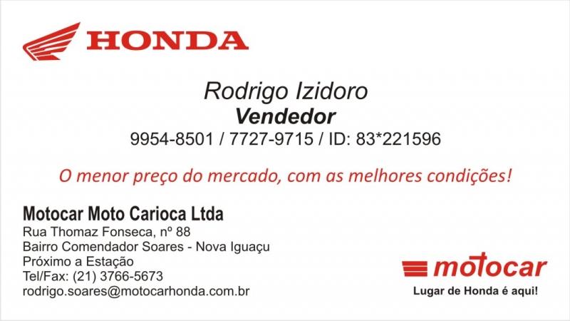 Cartão Honda
