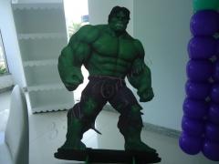 Display de chão em mdf hulk