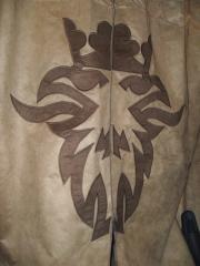 Logo da scania em cortina personalizada