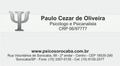 Paulo cezar de oliveira - psicologia e psicanálise sorocaba - foto 2