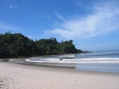 Praia pr�xima ao hotel
