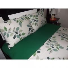 Lençol de malha verde bandeira - mega confecções