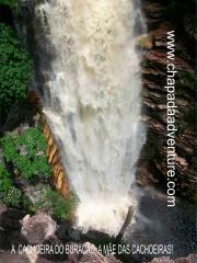 Cachoeira do buracão - chapada diamantina - bahia - brasil