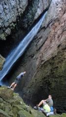 Cachoeira da fumacinha - chapada diamantina - bahia - brasil