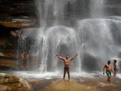 Cachoeira dos mosquitos - chapada diamantina - bahia - brasil.