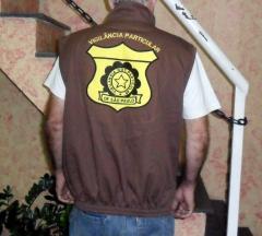 Colete de brim para seguranca/vigilancia particular
