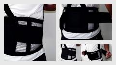 Cinturao lombar abdominal com suspensorio