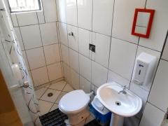 Banheiro sempre limpo.