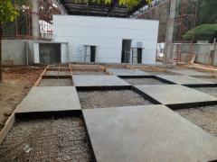 Concretagem de pavimentação