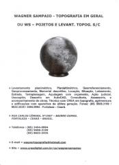 Ws - projetos topográficos