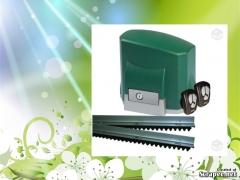 Kit-automatizador para portões deslizante marca seg modelo ch composto de um motor deslizante