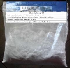 Ulexita natural de 30% a 38% de b203