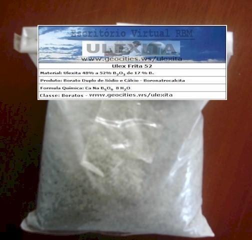 Ulexita Calcinada de 45% a 48% de B203