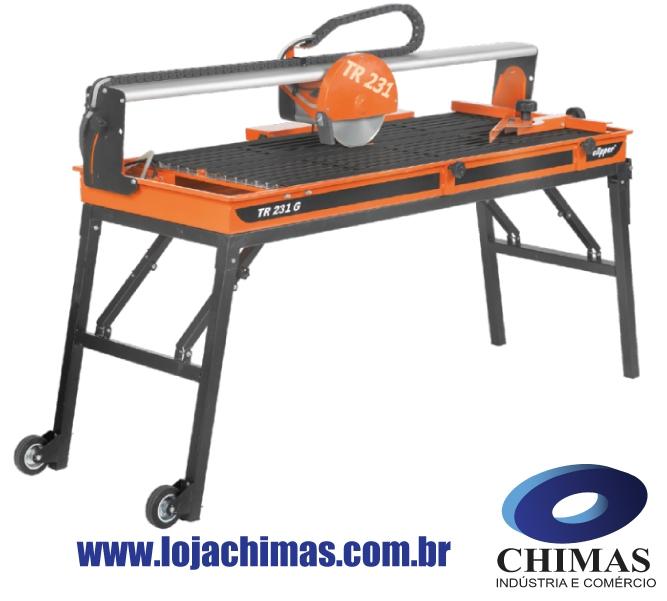 Máquina Clipper TR231 GL para corte de Porcelanato
