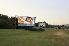 Painéis iluminado na rodovia hélio schimidt sentido aeroporto de cumbica em guarulhos é com a newbrasil publicidade (11) 2484-8277