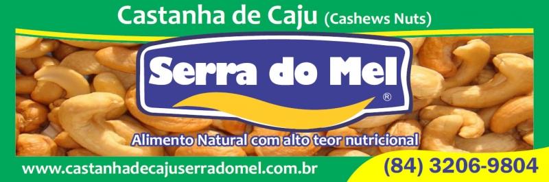 Banner Virtual, Cliente: Castanha de Caju Serra do Mel. Banner virtual para capa do Face Book.