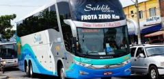 Ônibus executivo  linha  imperatriz  x  goiania