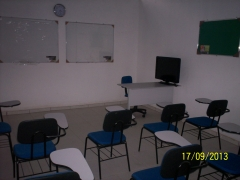 Salas de aula do Instituto