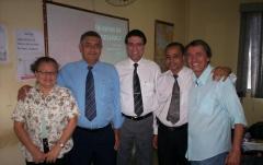 Prof robson e pr joselito no encontro da aetal em agosto/2013 no rj
