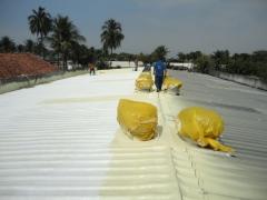 Isolamento termico no telhado da força aérea brasileira - impresol