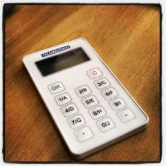 Keypad de votação interativa