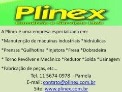 ManutenÇÃo de tornos, fresas , injetoras, usinagem guilhotina, dobradeira plinex 5674-0978