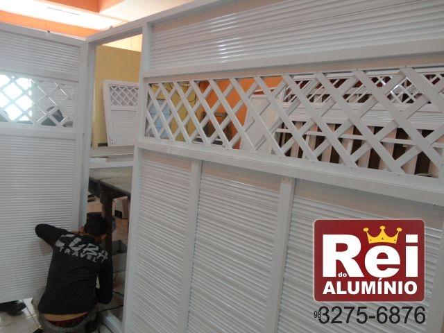 Portão de Alumínio & Vidro São Luís MA
