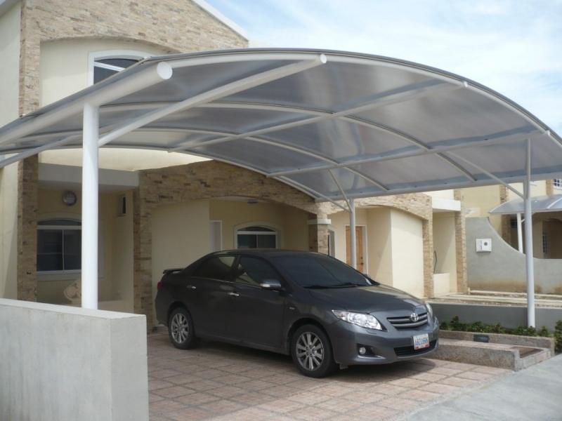 Foto coberturas de garagens for Modelos techos para garage