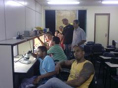 Sala de aula curso de manutenção