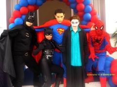 Shows e espetaculos com super herois para todo tipo de evento contato 11-9 9590-3197