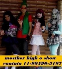 Mosther high o show apresentação em festas, eventos, teatro contato 11-99590-3197