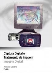 Capa de material did�tico; curso captura e edi��o de imagem digial; senac rj