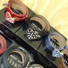 Cintos femininos de couro - www.kabupy.com.br