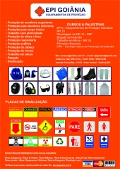 Equipamentos de proteção em goiânia
