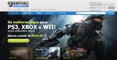Home page www.gamerental.com.br