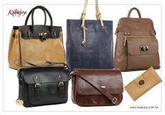Bolsas femininas de couro www.kabupy.com.br