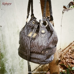 Bolsa feminina kabupy k0205 cinza