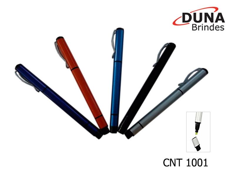 Caneta Metálica CNT 1001 - Personalizada a laser com seu logotipo.