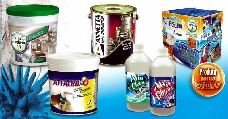 Linha de produtos, tintas e complementos sem tóxicos
