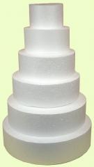 Discos e blocos  em eps para bolos falso