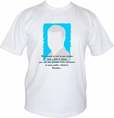 Camisetas para missas e homenagens