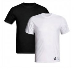 Camiseta em pv ou algodão